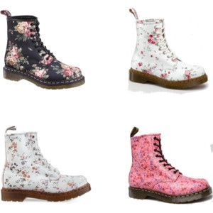 DrMartens1460Floral